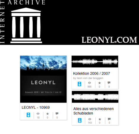 leonyl on archiv.org